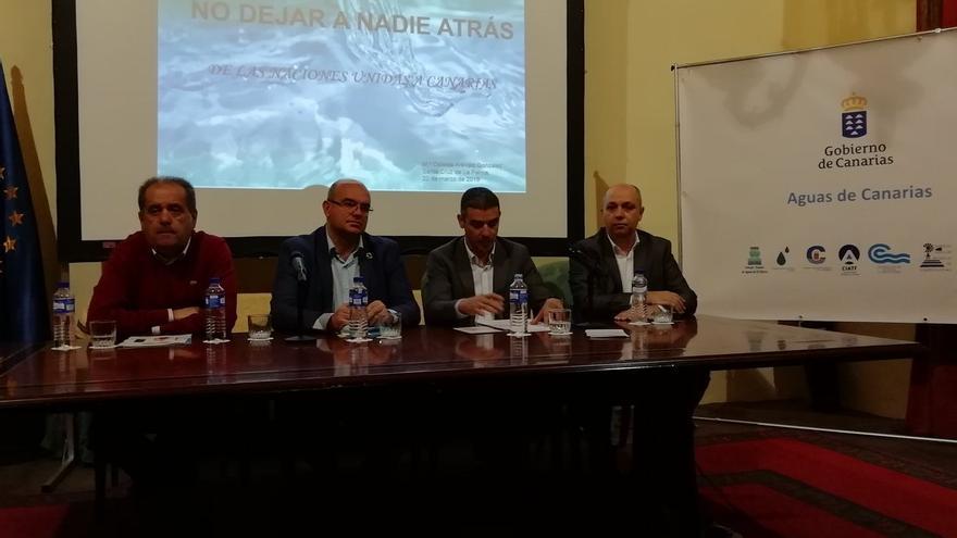 Inauguración de los actos en La Palma con motivo de la celebración del Día Internacional del Agua.