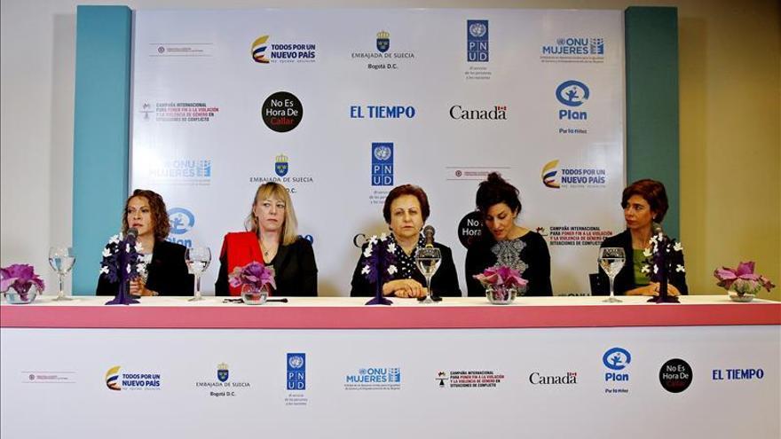 Ganadoras del Nobel piden más mujeres en las negociaciones de paz de Colombia