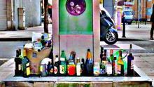 Contenedor de recogida neumática de basura.  