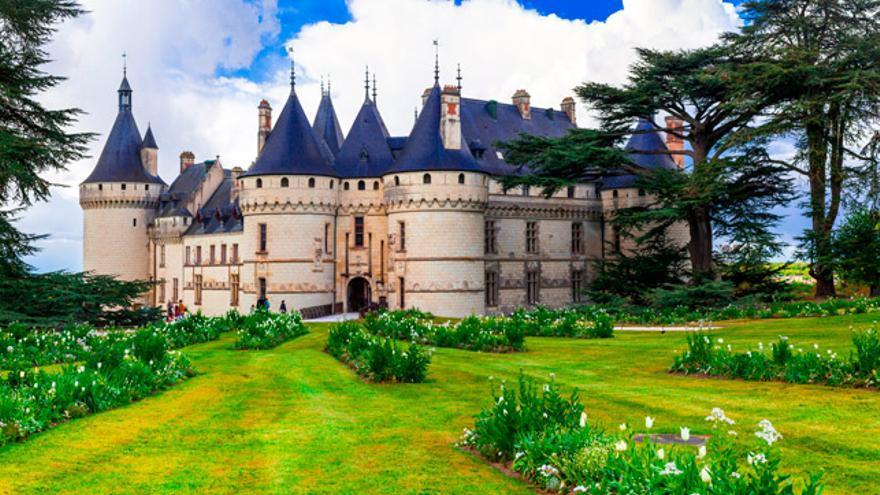 En el castillo de Chaumont-sur-Loire se celebra el Festival Internacional de los Jardines.