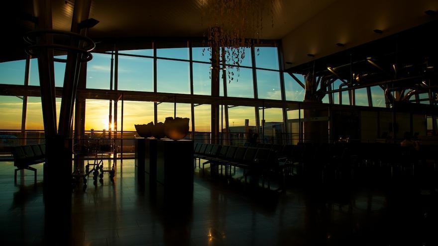 Vista desde el Aeropuerto de Helsinki-Vantaa