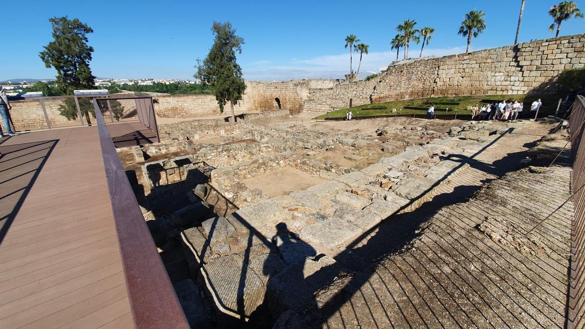Alcazaba árabe de Mérida, del año 835, la primera fundada por esos invasores en España