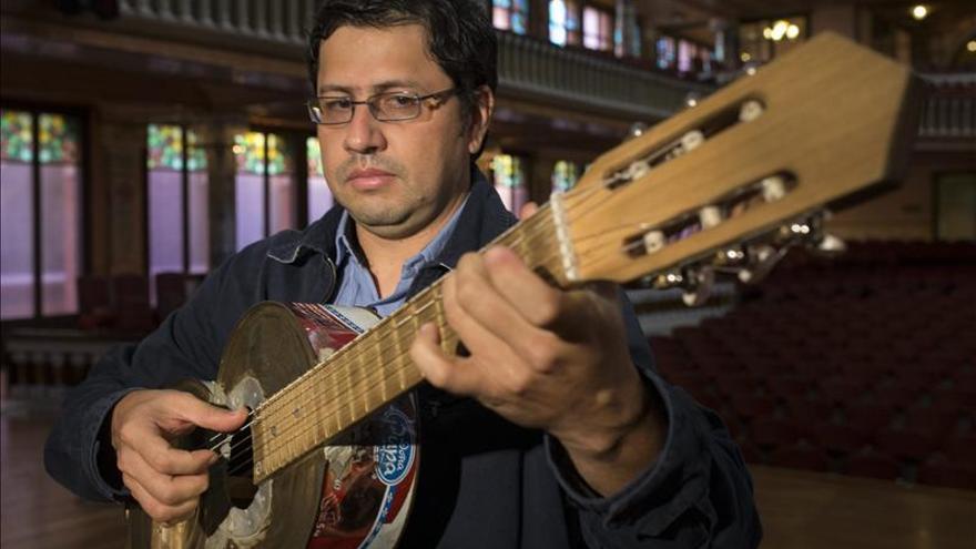 Una orquesta que crea sus instrumentos con desechos inicia gira en España