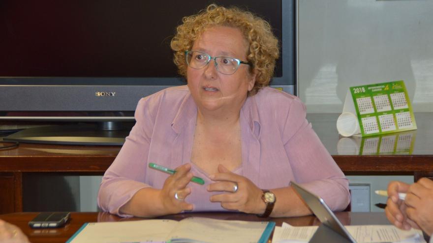 Marisol Collado, directora general de Personal  de Educación del Gobierno de Canarias.