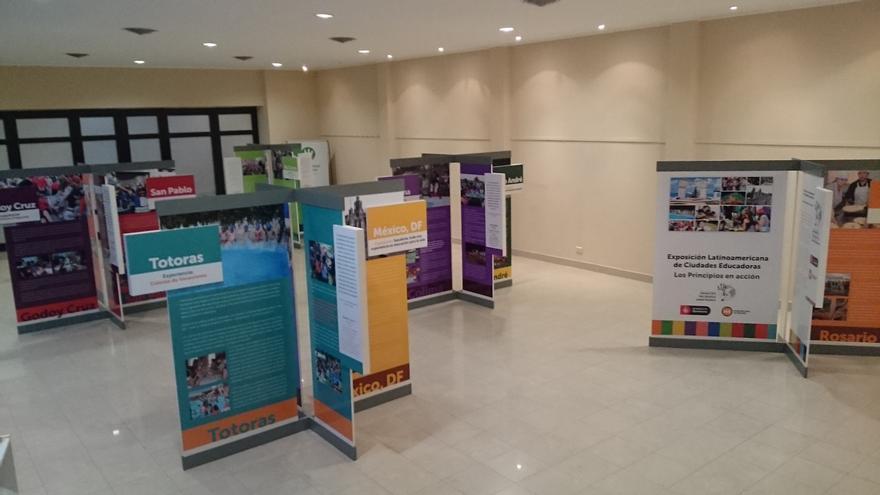 Exposición de la Asociación Internacional de Ciudades Educadoras