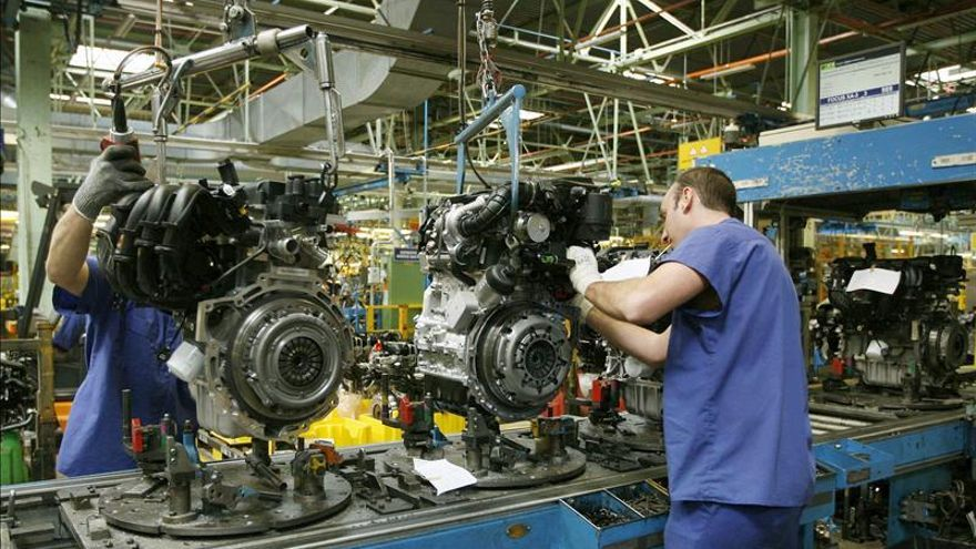 La producción industrial crece en noviembre un 0,2 por ciento