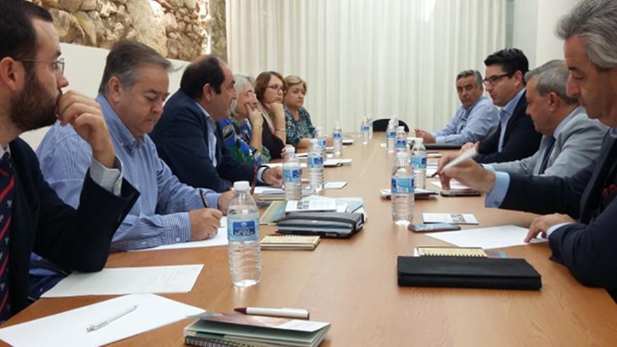Mesa de trabajo 'Halal' constituida en el Ayuntamiento.