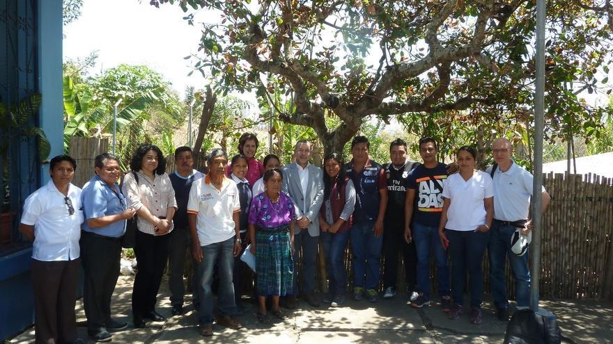 Laparra se reúne con la ministra de Salud Pública de Guatemala en la primera jornada de su viaje al país