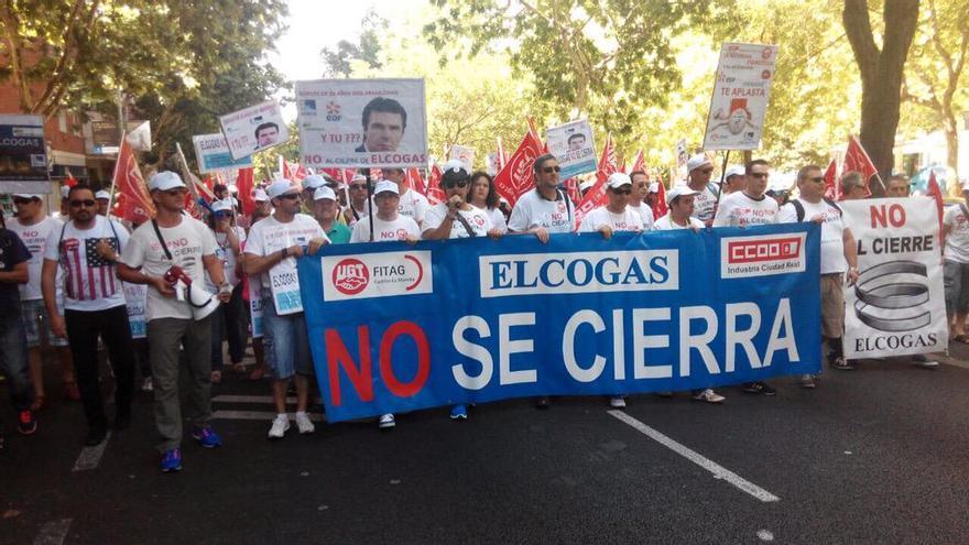 Marcha Elcogas Madrid. Foto: Agustín Martín | Twitter