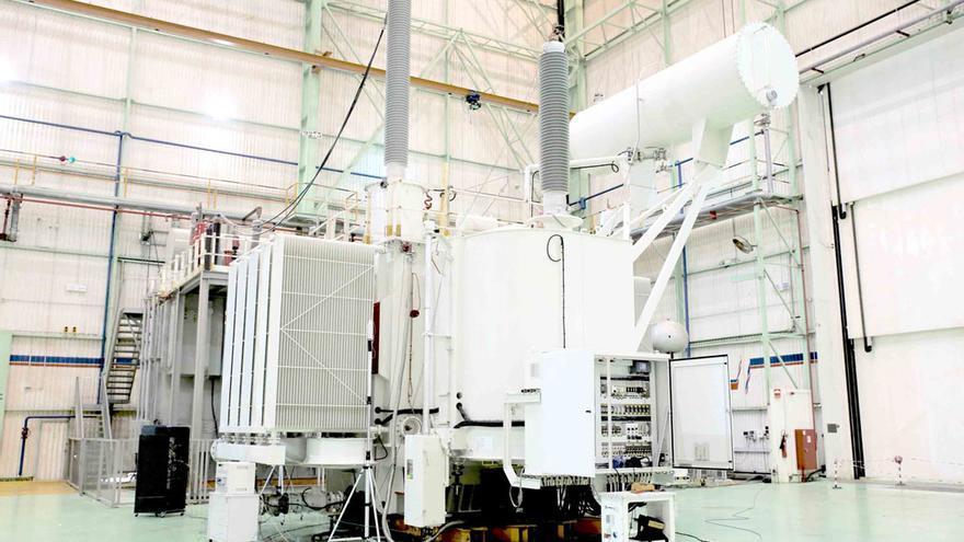 Interior de la fábrica de ABB en una imagen de archivo.