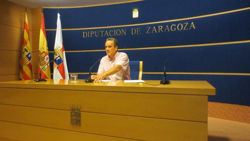 El presidente de la DPZ, Juan Antonio Sánchez Quero.