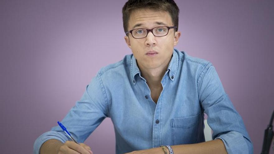 Íñigo Errejón: No compete a la dirección de Podemos opinar sobre la candidatura de Madrid