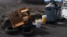 La campaña se inició como consecuencia del incumplimiento de la  ordenanza municipal de limpieza y uso de la vía pública y de residuos en general durante estos días de confinamiento.