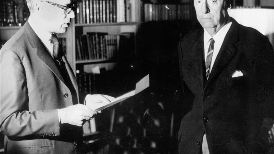Neruda y Auden compitieron en 1963 por el Nobel que ganó Giorgos Seferis