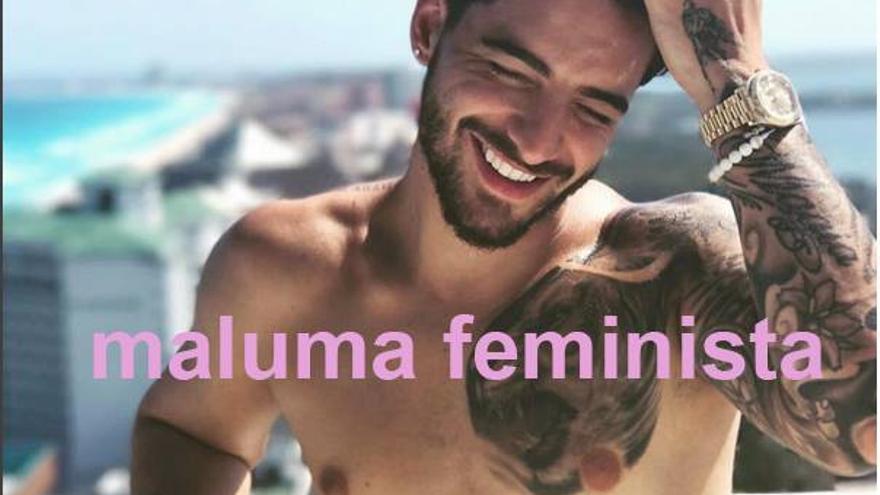 El cantante colombiano Maluma, de machista a meme feminista