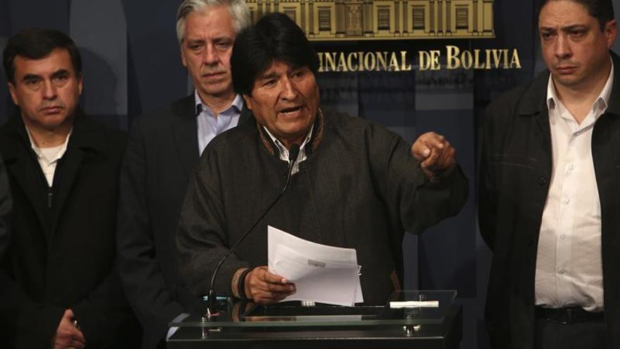 Evo Morales llama a Chile a dialogar antes de que pierda en la CIJ como con Perú