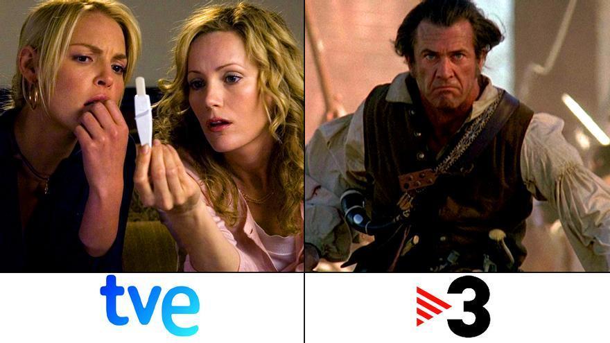 La víspera del 1-O en la tele: Lío embarazoso en La 1 y El Patriota en TV3