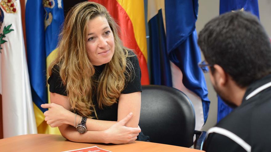 Verónica Meseguer, concejala capitalina de Deportes, de CC