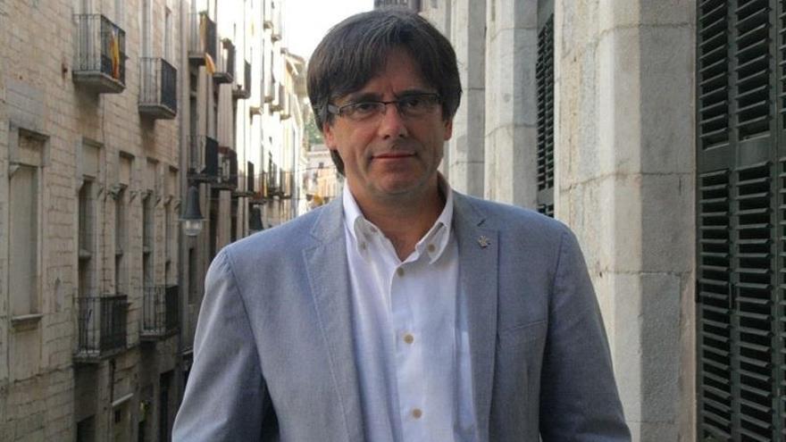 """Puigdemont: """"Gracias, presidente, por liderar y perseverar"""""""