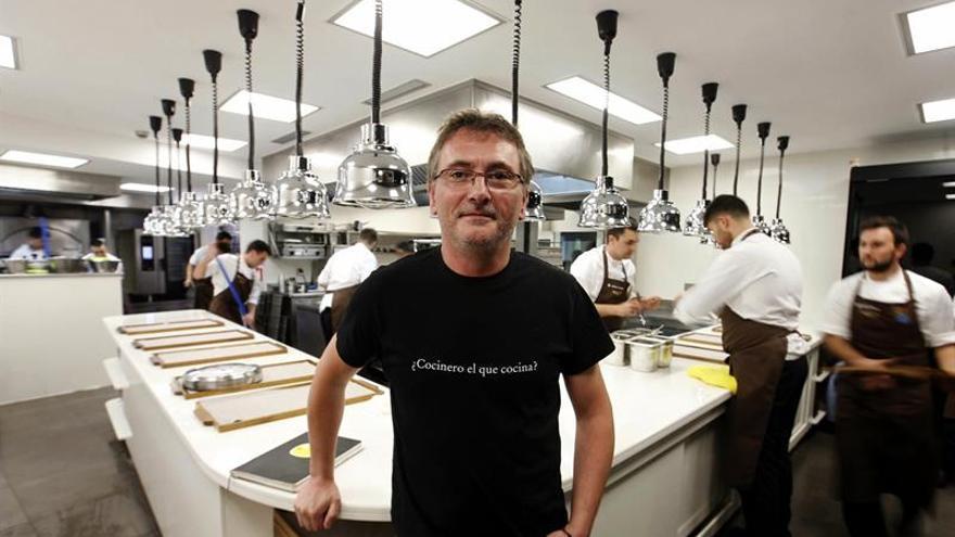 Andoni Aduriz defiende el aprovechamiento de materias primas en pro gastronomía