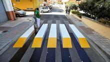 Llega el primer paso de peatones 3D y termofusible, más fiable y duradero
