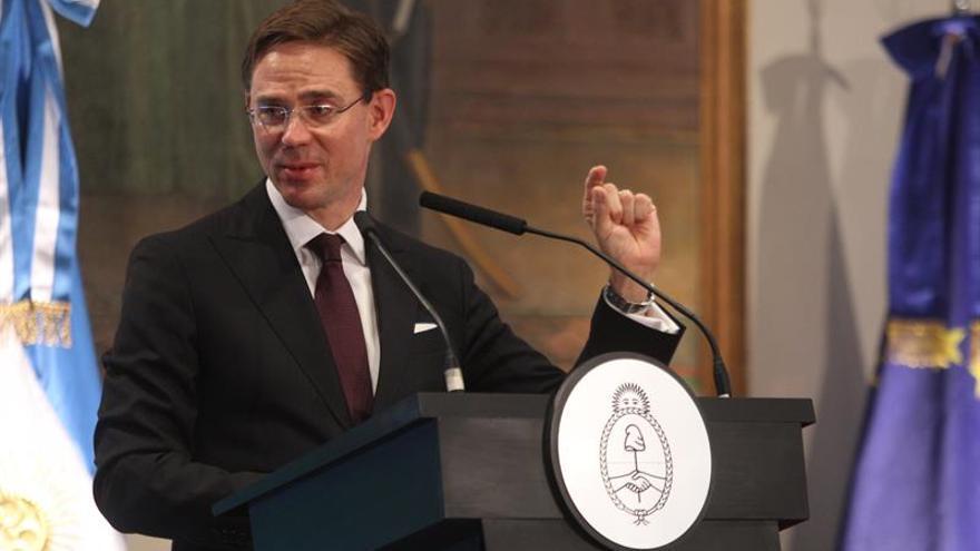 """Mercosur quiere un pacto de comercio con la UE """"basado en valores"""", dice Argentina"""