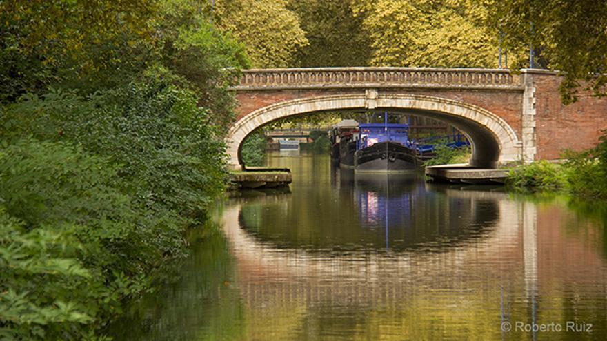 Los Canales de Brienne y de Midi atraviesan la ciudad de Toulouse