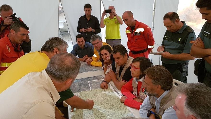 El Infoca da por estabilizado el incendio declarado este viernes en La Granada de Riotinto (Huelva)