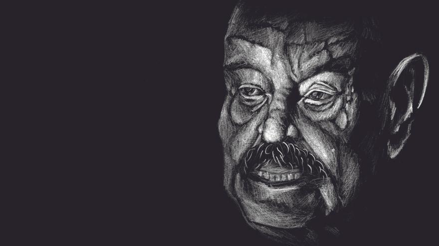 Ilustración de José Hierro. | JONATHAN PUENTE