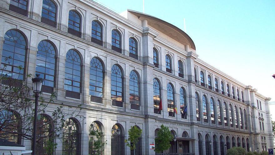 Fachada del Real Conservatorio de Música de Madrid. / Wikipedia