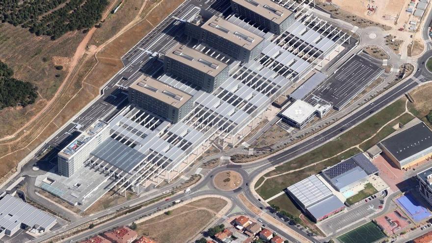 Vista del Hospital Universitario de Burgos