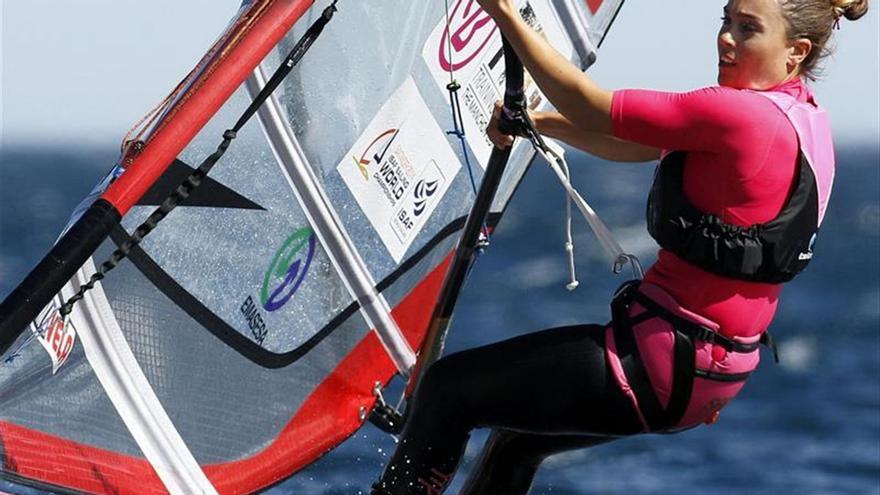 Blanca Manchón, campeona de España de vela