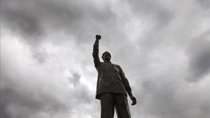 Mandela, nombrado personaje de 2013 por los periodistas sudafricanos