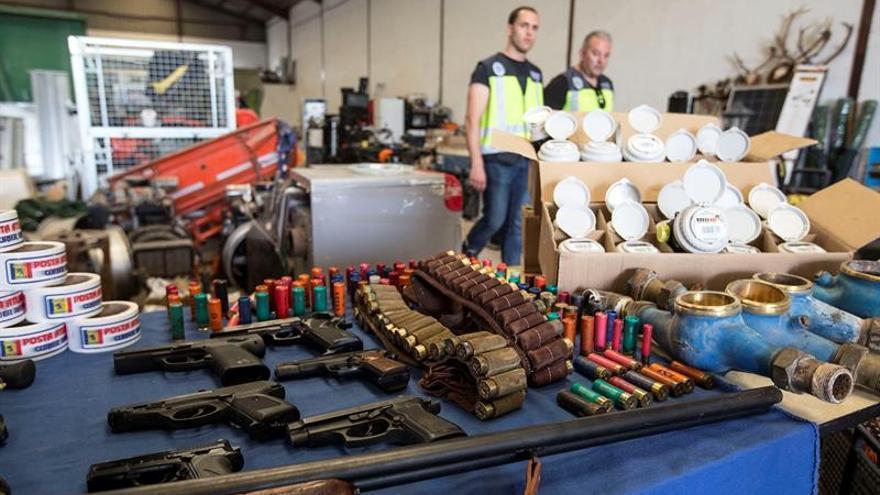 La banda desarticulada en Valencia almacenaba su botín junto a la A-7