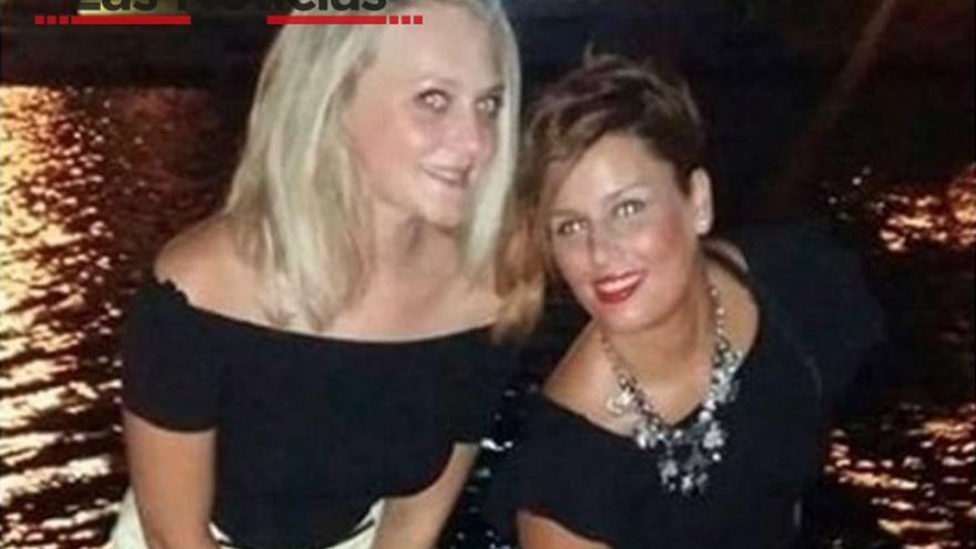 La desaparecidas Marina Okarynska y Laura del Hoyo Chamón / Foto: Las Noticias de Cuenca
