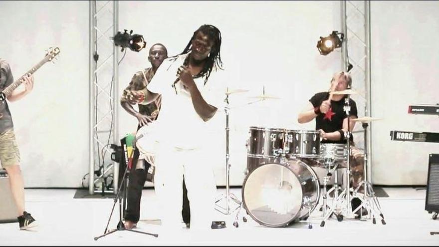 El grupo de reggae Baba Sall & Raka Ndao.