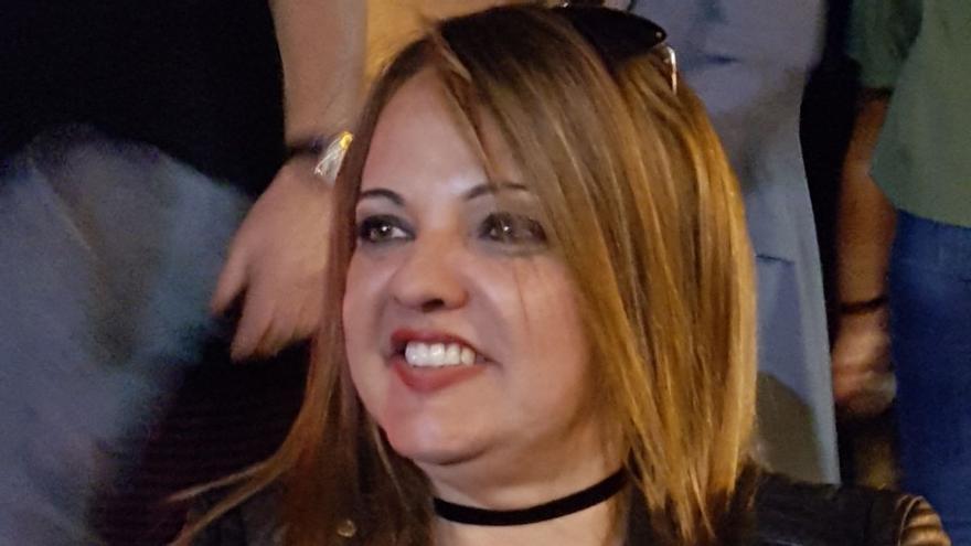 La periodista Eugenia Paiz.