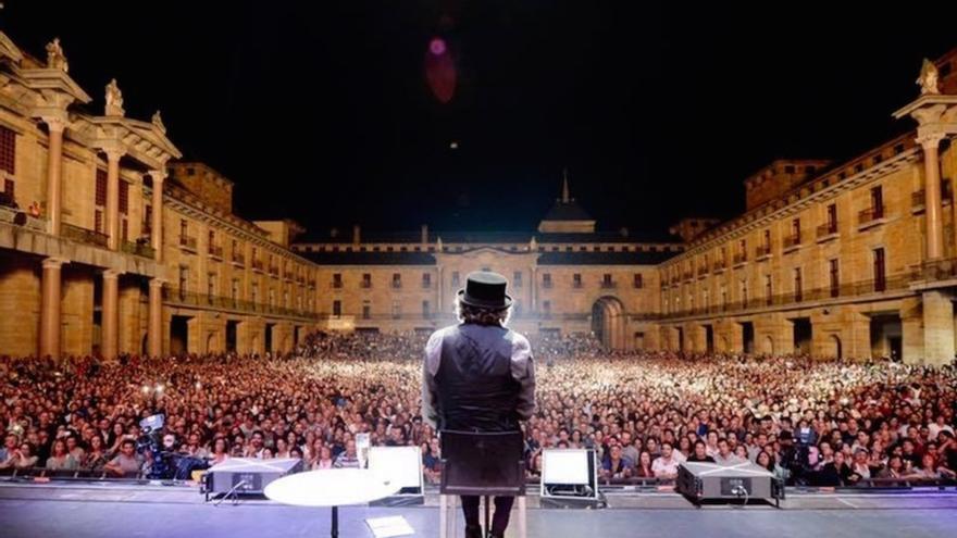 Imagen de archivo de un concierto de Sabina.