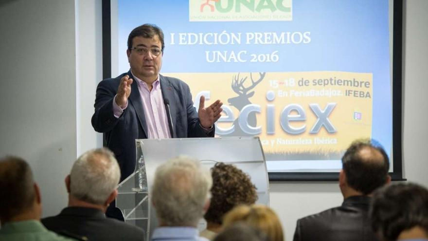 El presidente de la Junta de Extremadura, Guillermo Fernández Vara / Junta
