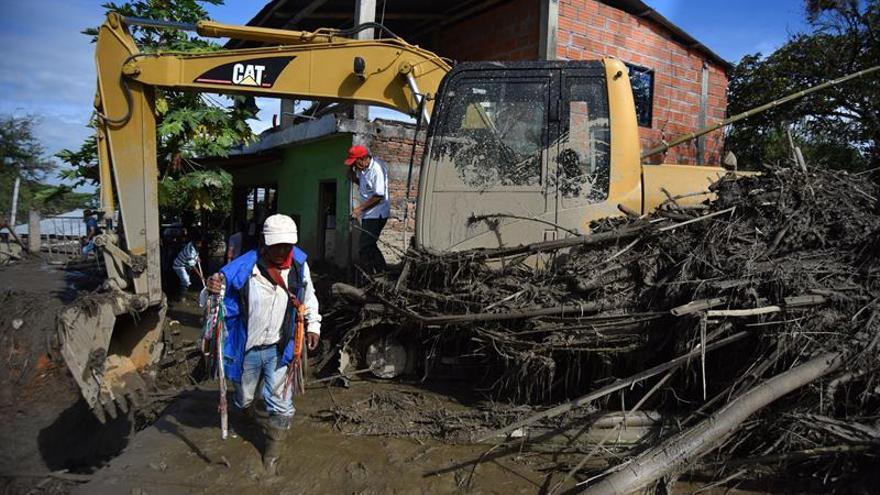 La ONU estima que una riada afectó a 630 familias en el suroeste de Colombia