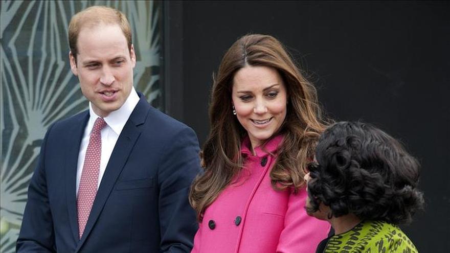 La duquesa de Cambridge aparece en el último acto público antes de dar a luz