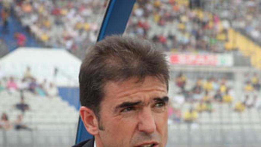 Gonzalo Arconada, durante su última visita al Estadio de Gran Canaria con el CD Numancia. (QUIQUE CURBELO)