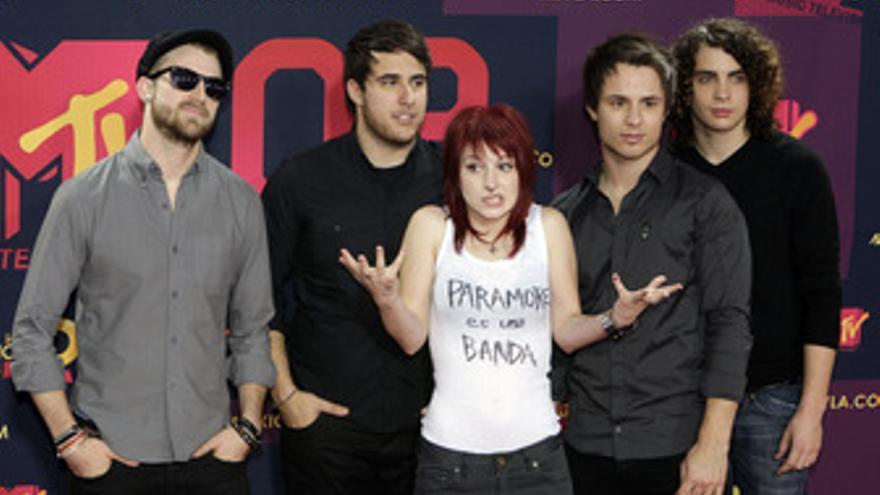 La banda estadounidense Paramore