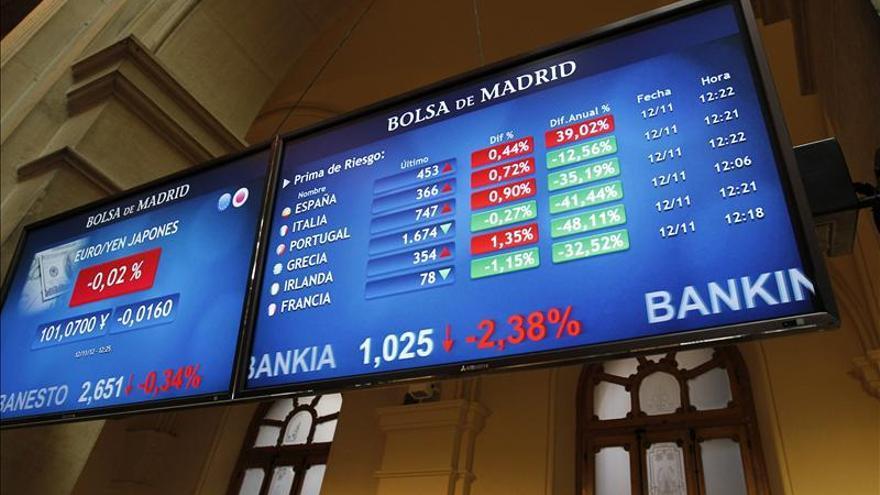 El cambio del bono español sube la prima de riesgo a 367 puntos básicos