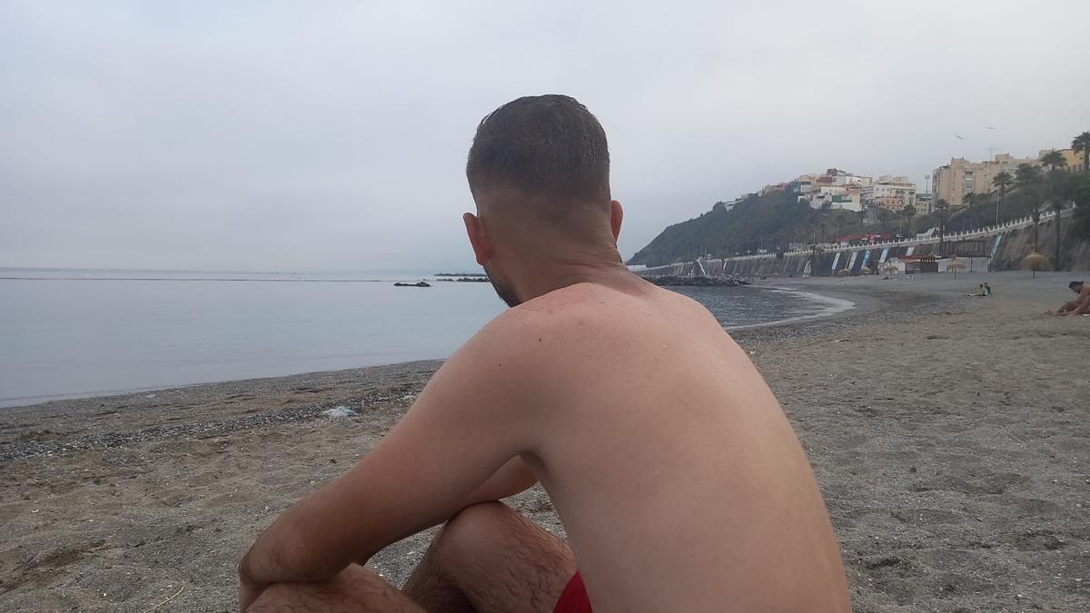 Rayan, solicitante de asilo en Ceuta.