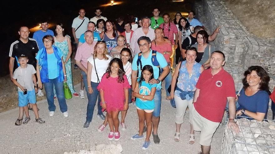 Una de las visitas nocturnas a Segóbriga realizadas el año pasado. Foto: Diputación de Cuenca