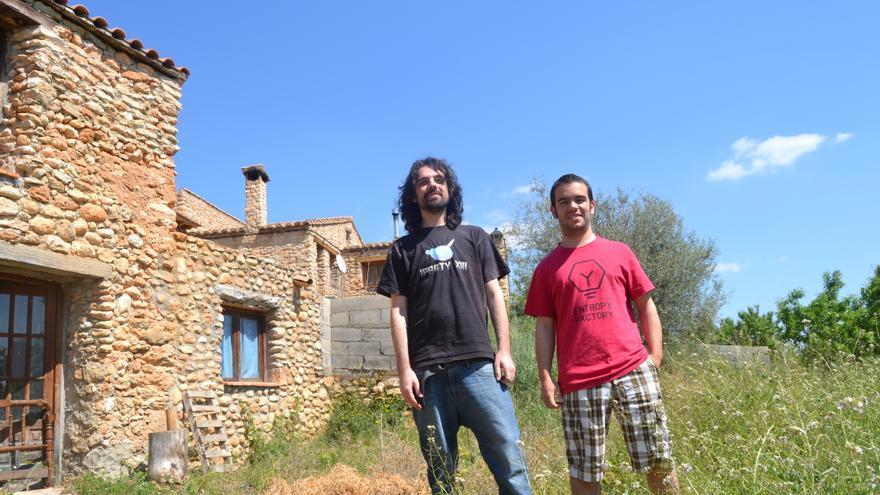 Vicent Nos y Lluís Santos, fundadores de Entropy Factory.