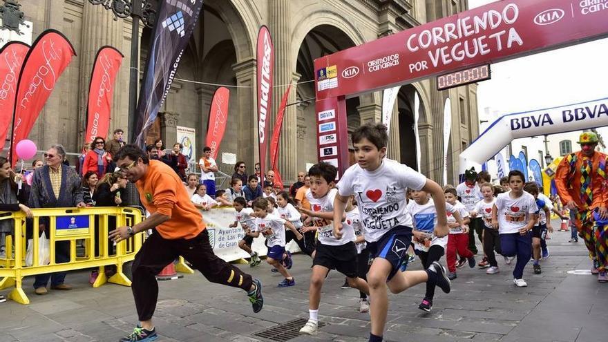 Carrera Corriendo por Vegueta.