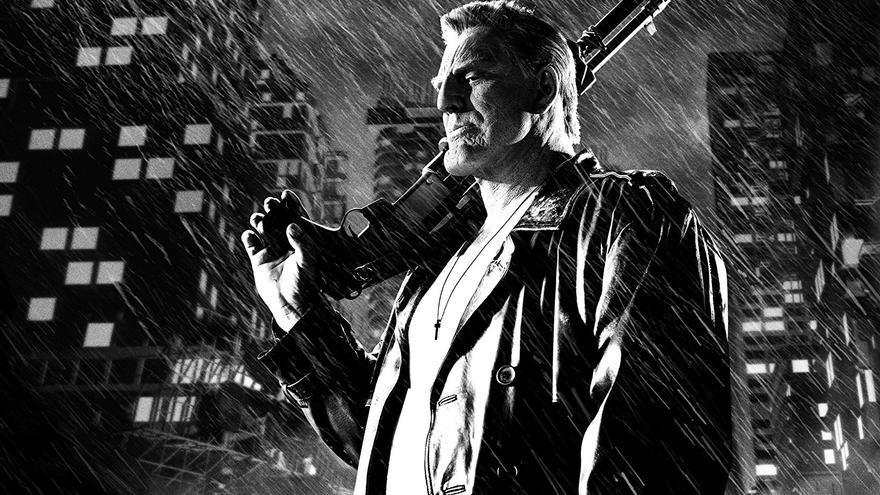 Mickey Rourke en 'Sin City, Una dama por la que matar'