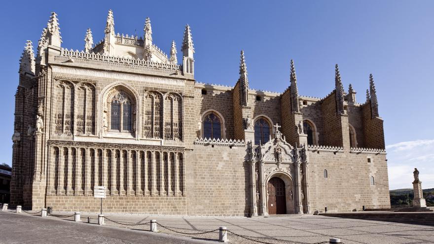La catedral de Sigüenza y San Juan de los Reyes en Toledo ...